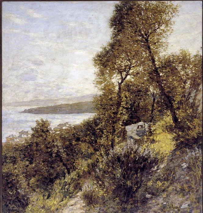 Лигурийский пейзаж. Анри Герберт Ла Танга