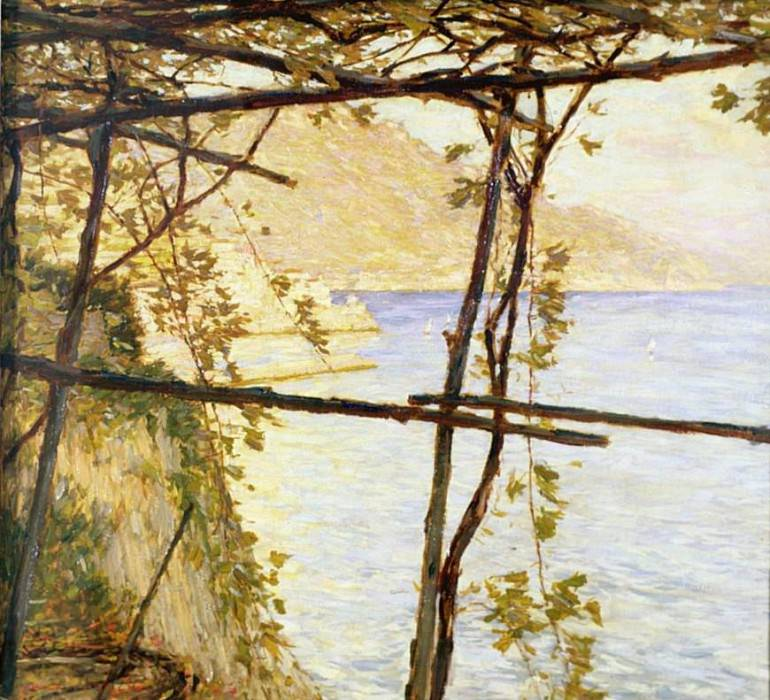 Trellised Vine. Henry Herbert La Thangue