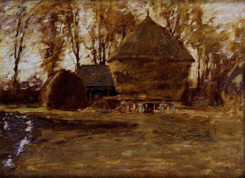 Sussex Hayricks. Henry Herbert La Thangue