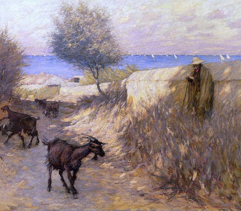 Provencal Lane, Martigues. Henry Herbert La Thangue