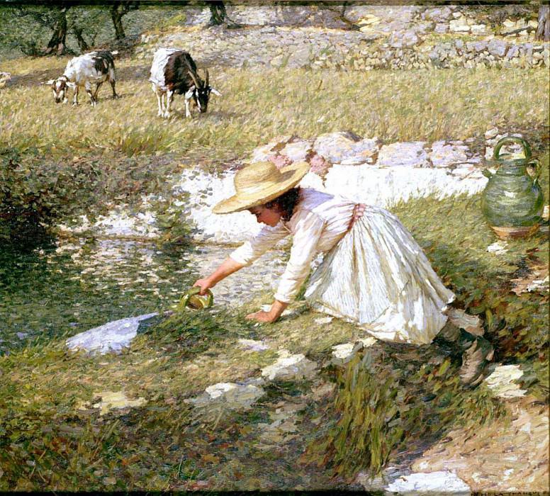 Provencal Spring. Henry Herbert La Thangue
