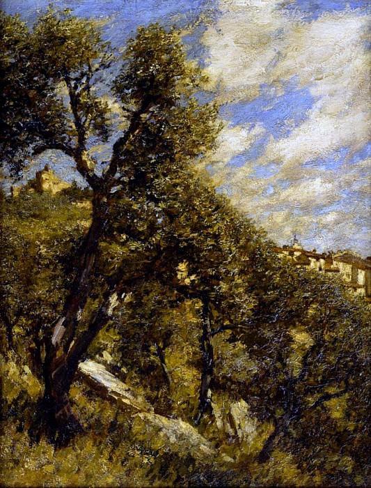 Spring in Provence. Henry Herbert La Thangue