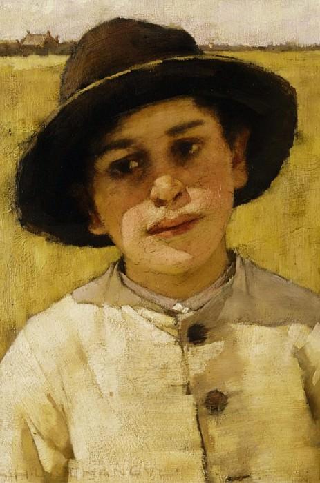 Portrait of a Boy. Henry Herbert La Thangue