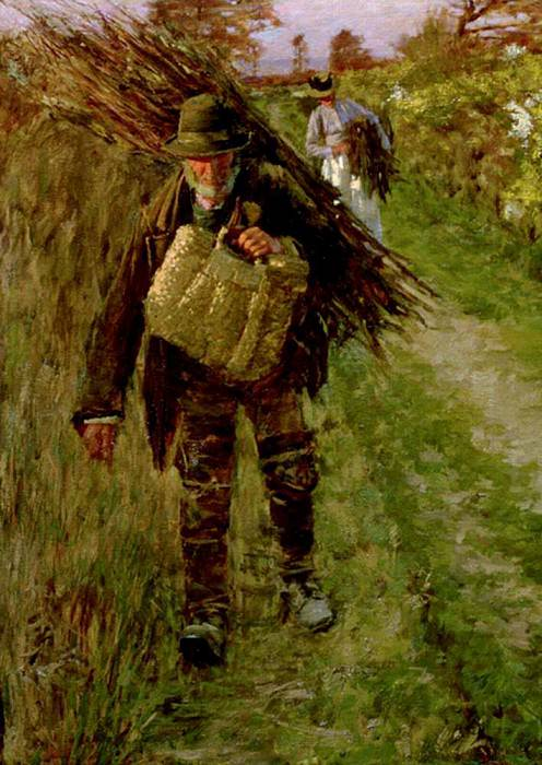 The Woodman. Henry Herbert La Thangue