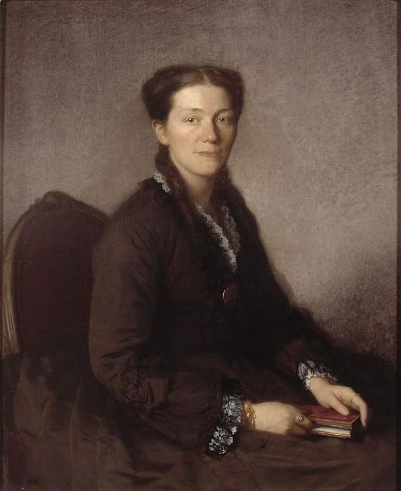 Mrs Anna Wallenberg (1838-1910), f. Von Sydow. Uno Troili