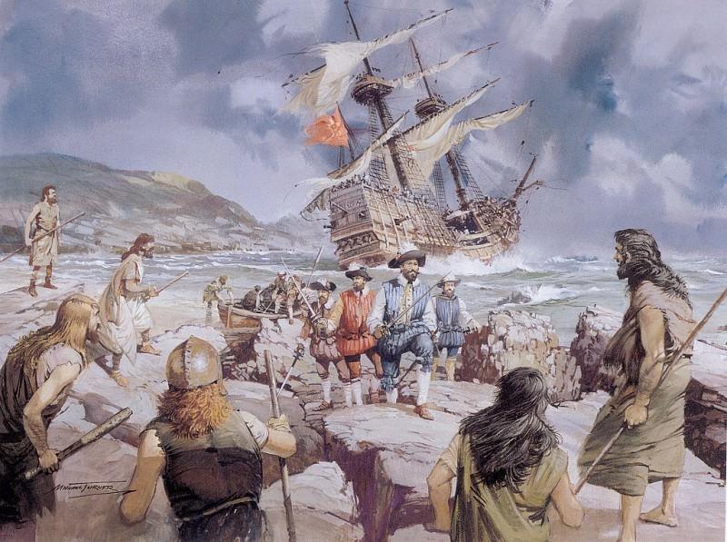 c mtb spanish armada rocky coast of ireland. Майкл Тернер