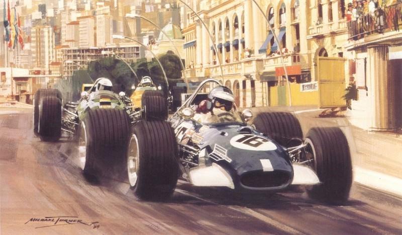 Cmamtmon 027 1969 fifth victory for wingless hill. Майкл Тернер