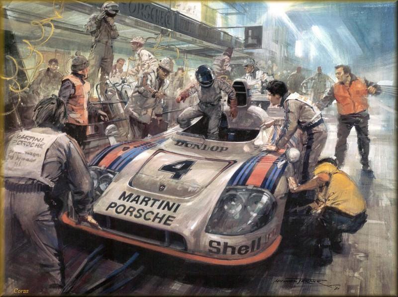 CorsaScan 021 The Winning Porche Le Mans 1977. Майкл Тернер
