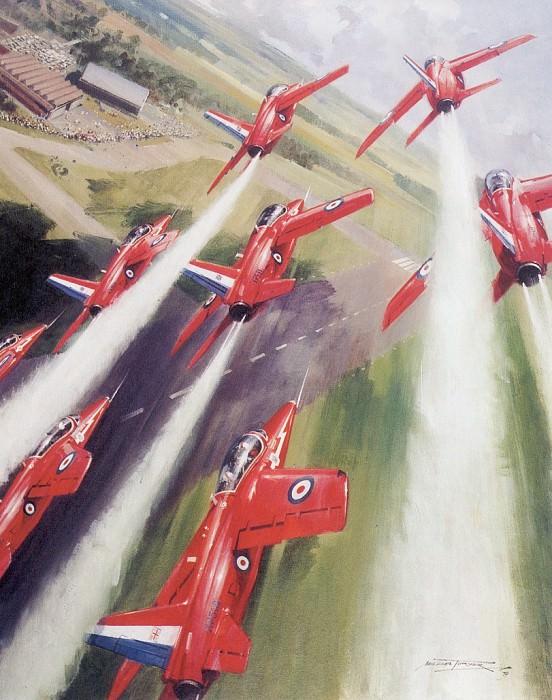 c mtg the raf red arrows. Michael Turner
