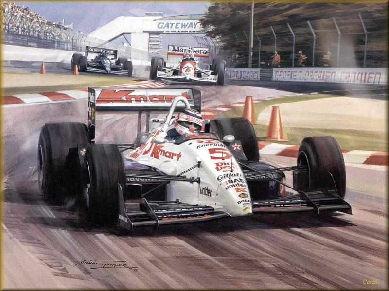 CorsaScan 040 Mansell 1993 Indy Car. Майкл Тернер