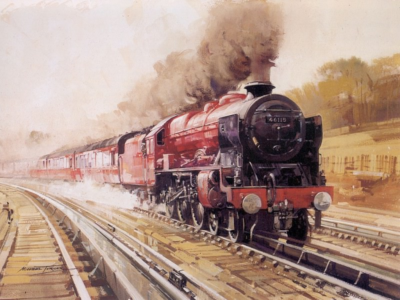 c mtm the royal scotts express. Michael Turner