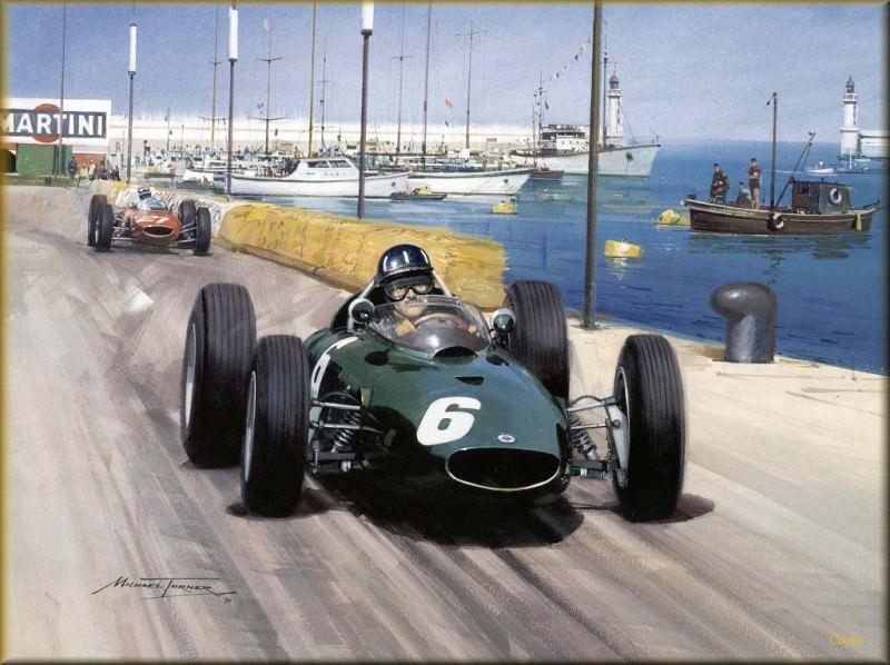 CorsaScan 012 Master Of Monaco 1963. Майкл Тернер