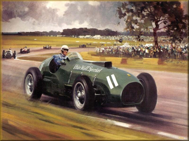 CorsaScan 010 The Green Ferrari 1952. Michael Turner