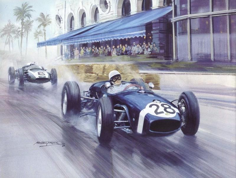 Cmamtmon 021 1960 maiden f1 grand prix win for lotus. Michael Turner