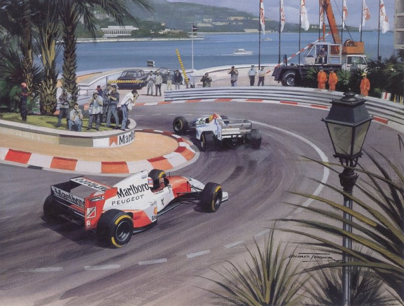 Cmamtmon 057 1994 schumacher wins subdued monaco gp. Michael Turner