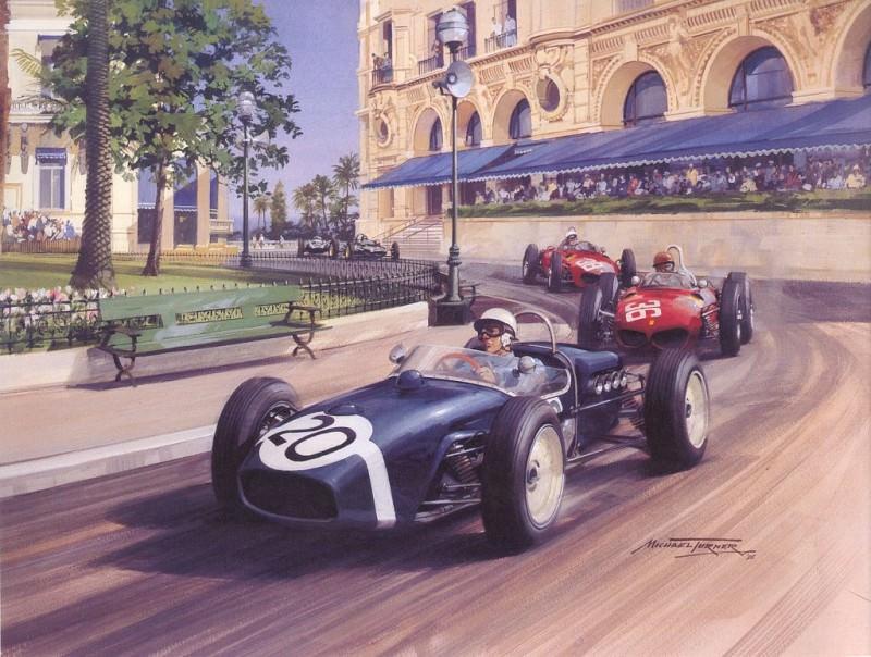 Cmamtmon 022 1961 mosss greatest win. Майкл Тернер