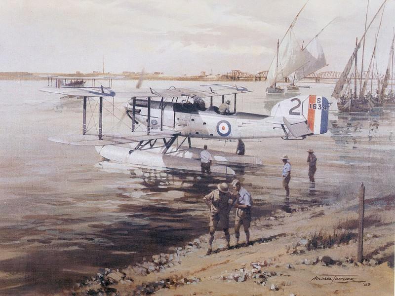 c mte fairey 111f floadplane serving khartoum. Michael Turner