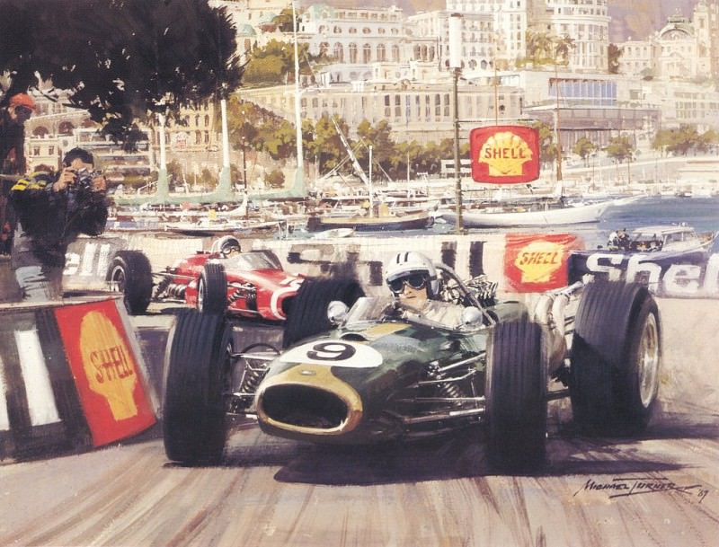 Cmamtmon 025 1967 a tragig grand prix. Michael Turner