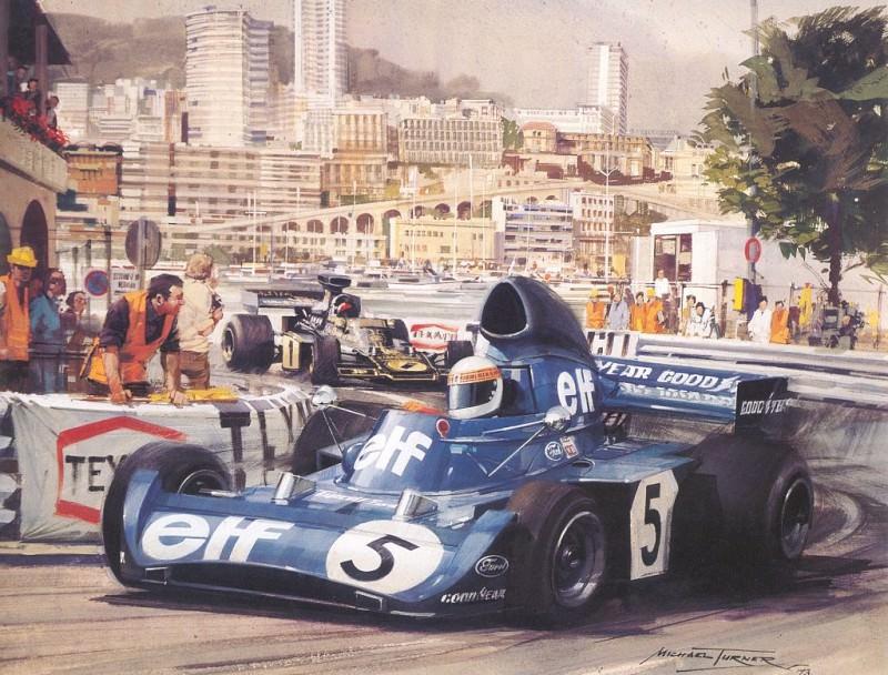 Cmamtmon 032 1973 third monaco victory for stewart. Michael Turner