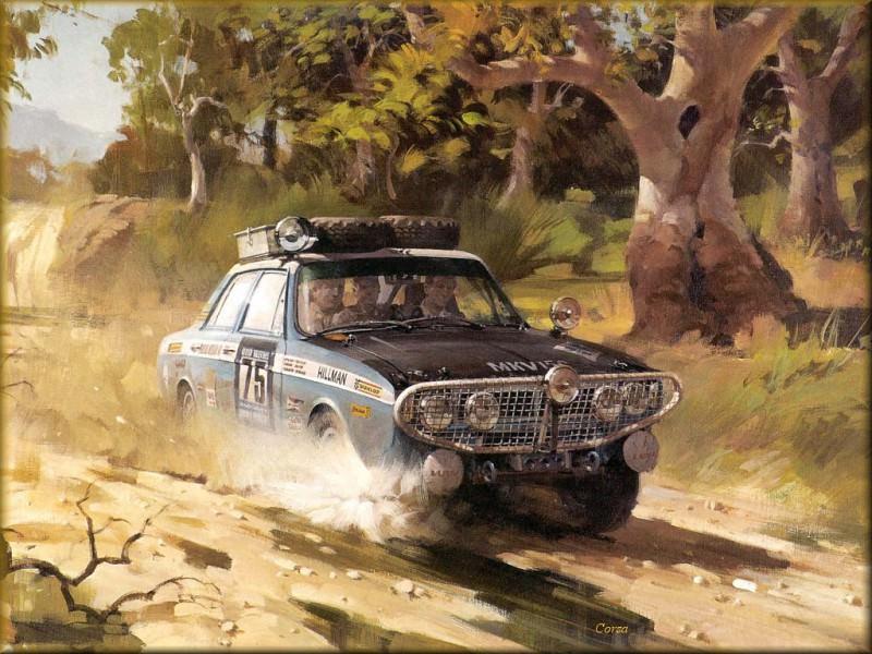 CorsaScan 024 The Winning Hillman. Майкл Тернер