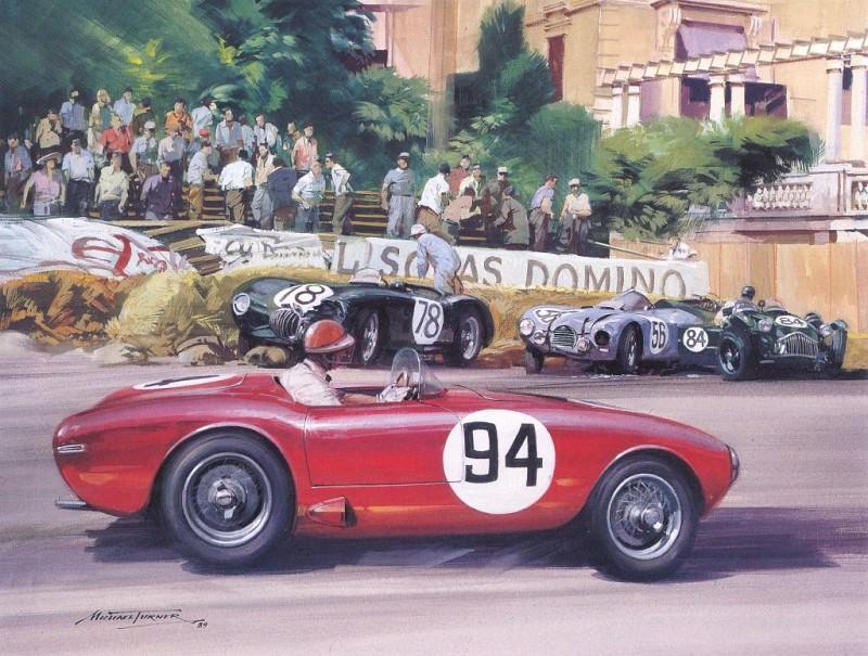 Cmamtmon 014 1952 sports car interlude. Майкл Тернер