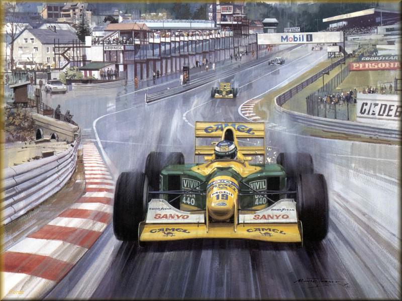 CorsaScan 039 Michael Schumacher Spa. Майкл Тернер