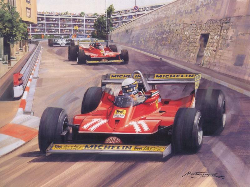 Cmamtmon 041 1979 number two for scheckter. Майкл Тернер