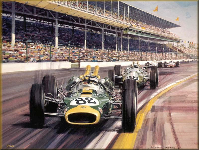 CorsaScan 027 Clark Wins The Indianapolis 1965. Michael Turner