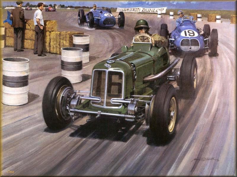 CorsaScan 005 Era British GP 1949. Майкл Тернер