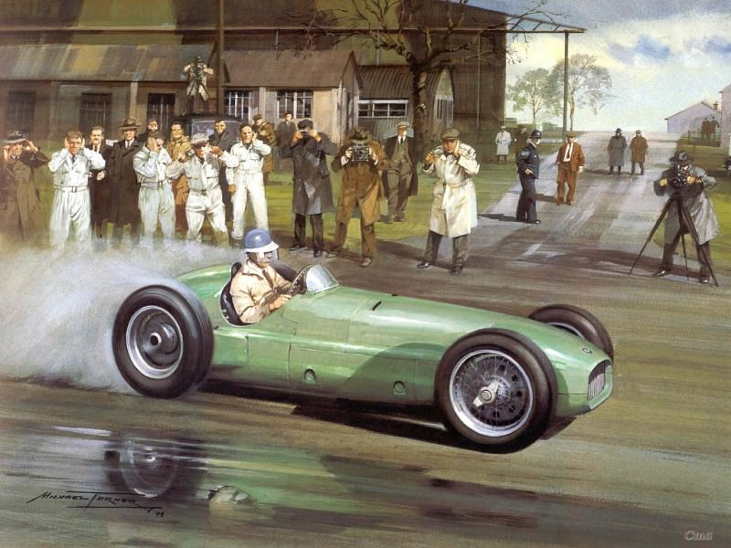 Cmamtcl 013 1949 the first brm. Michael Turner