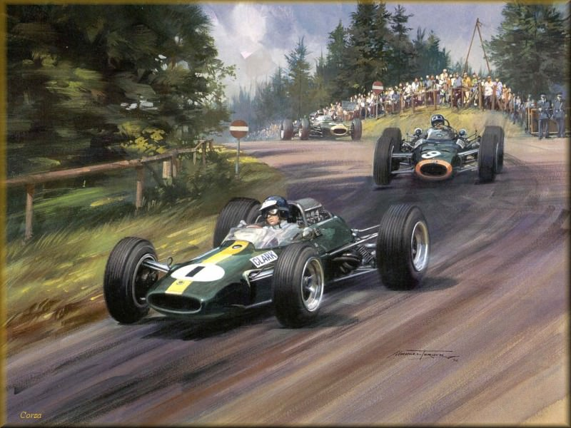 CorsaScan 014 World Champion Jim Clark 1965. Майкл Тернер
