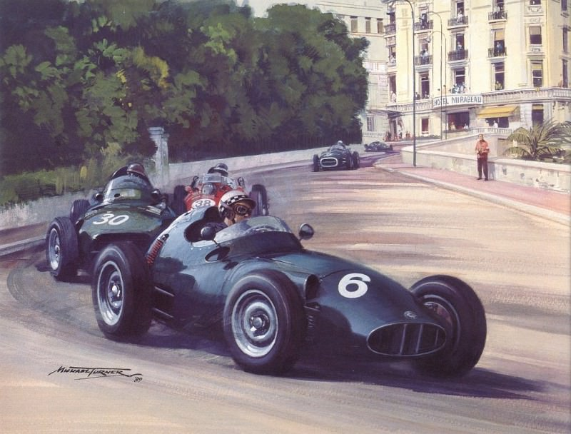 Cmamtmon 019 1958 rear engined revolution. Майкл Тернер