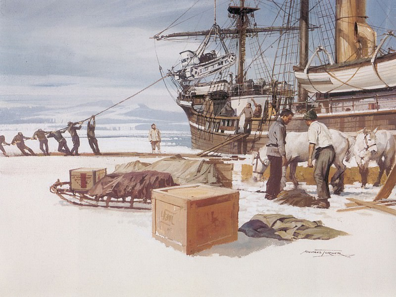 c mtc captains scott expedition to the south pole 1911. Майкл Тернер