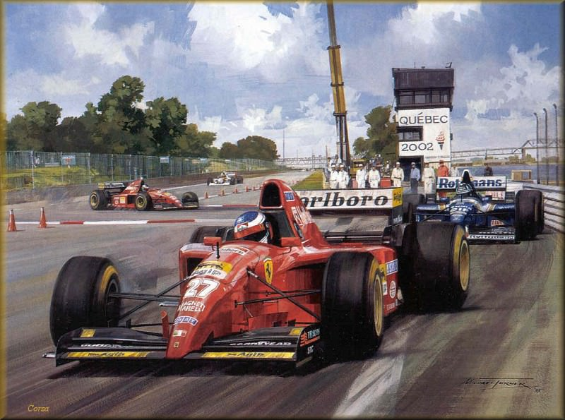 CorsaScan 043 Alesi Wins In Monteal. Michael Turner