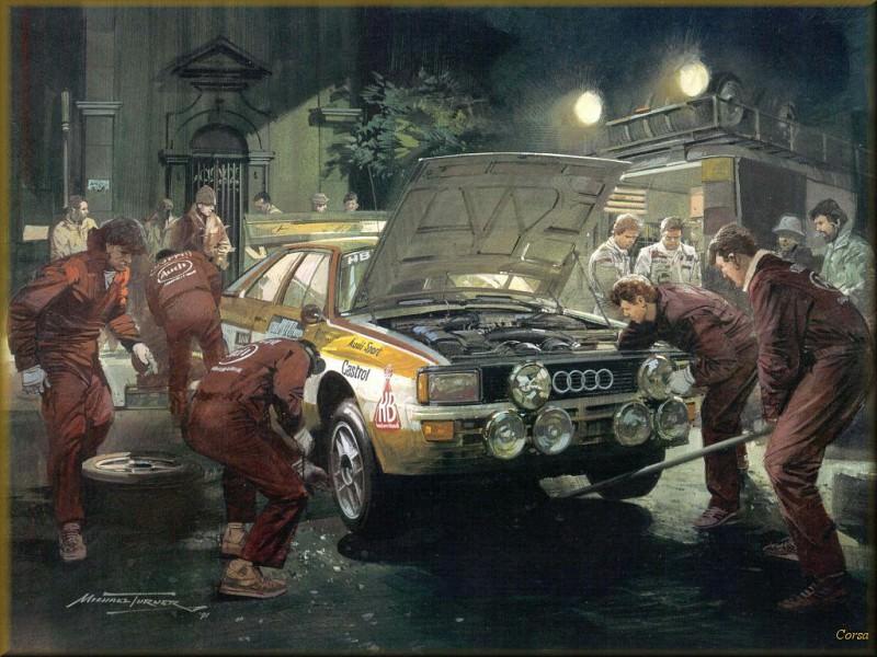 CorsaScan 034 Sevice Stop For Audi 1984. Майкл Тернер