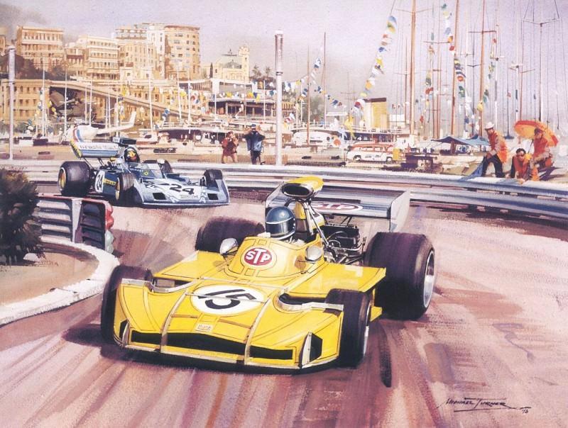 Cmamtmon 035 1973 one of formula 1 last privateers. Michael Turner