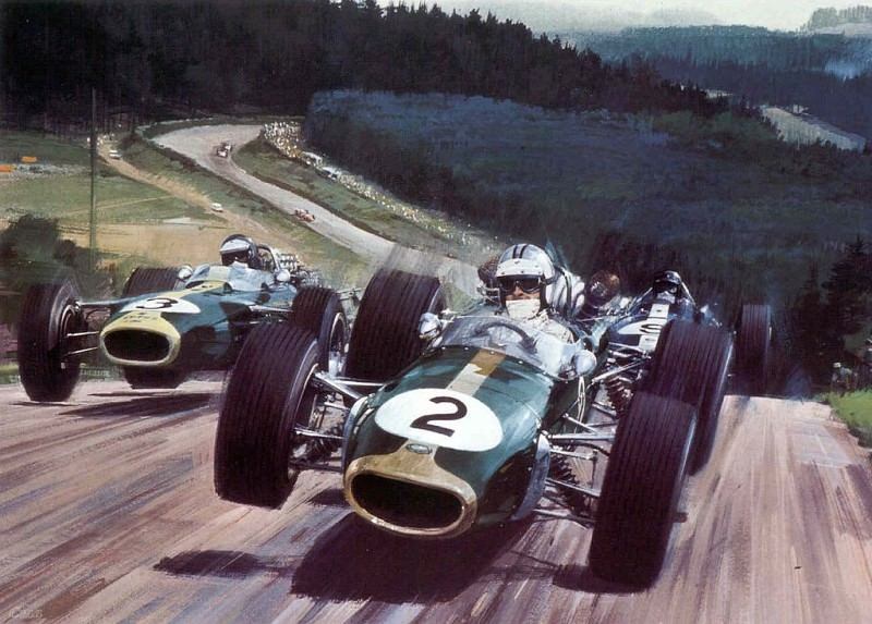 Cmamtcl 015 1967 denny hulme german gp. Michael Turner