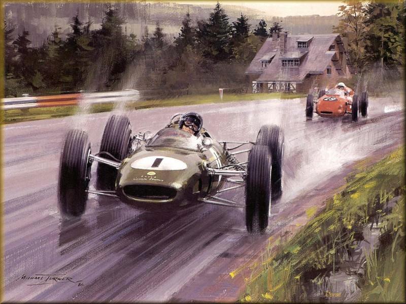 CorsaScan 013 Jim Clark At Spa 1963. Michael Turner