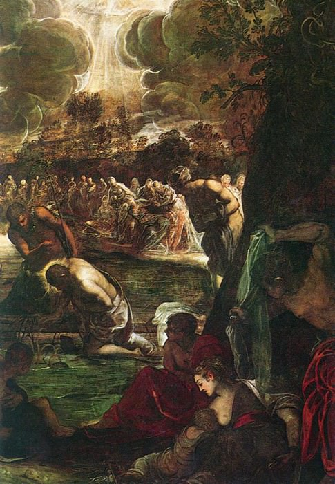 Tintoretto Baptism of Christ detail1. Tintoretto (Jacopo Robusti)