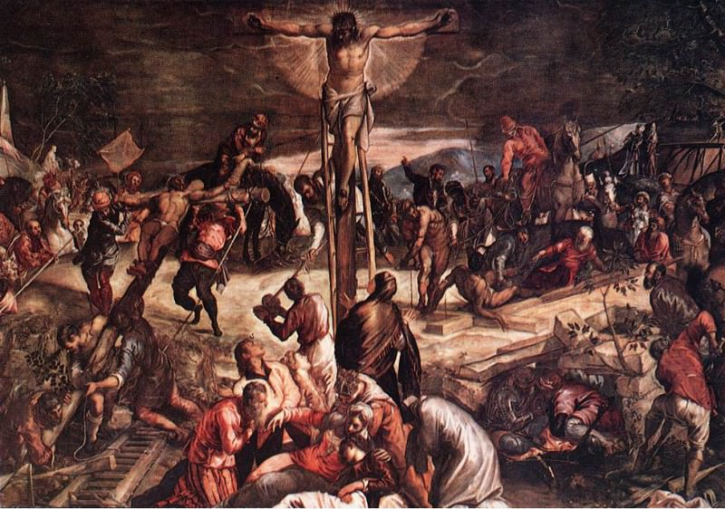 Tintoretto Crucifixion detail1. Tintoretto (Jacopo Robusti)