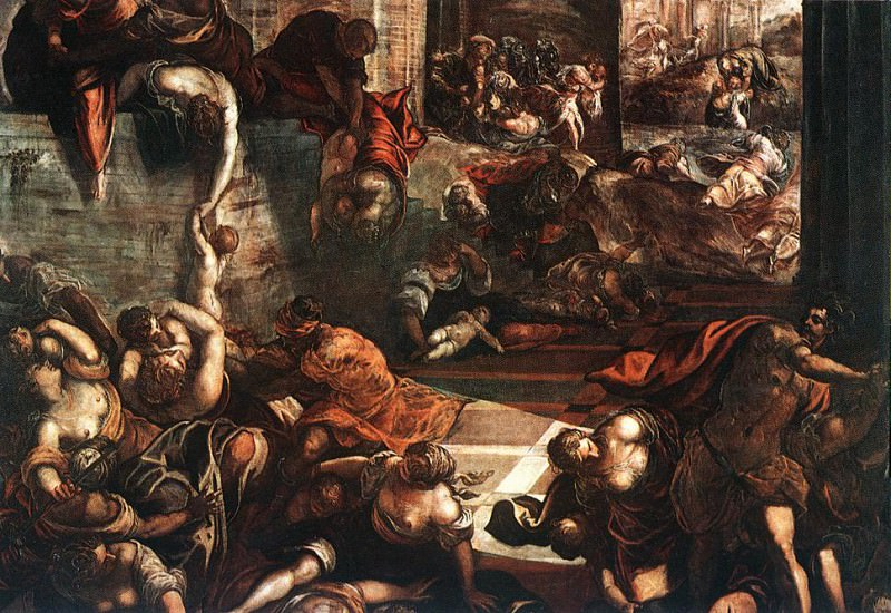 Tintoretto The Slaughter of the Innocents. Tintoretto (Jacopo Robusti)