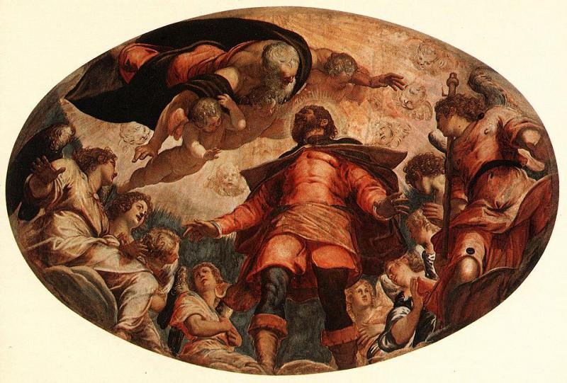 Tintoretto Glorification of St Roch. Tintoretto (Jacopo Robusti)