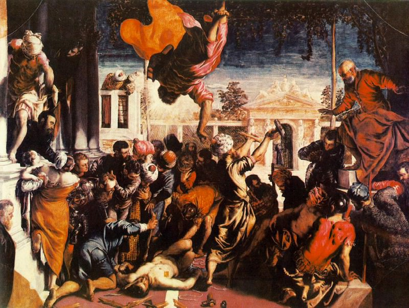The Miracle of St Mark Freeing the Slave WGA. Tintoretto (Jacopo Robusti)