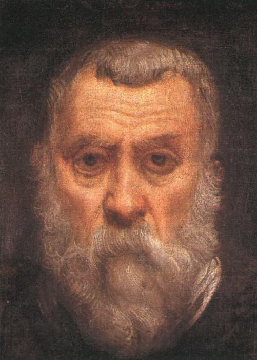 Tintoretto Self portrait detail1. Tintoretto (Jacopo Robusti)