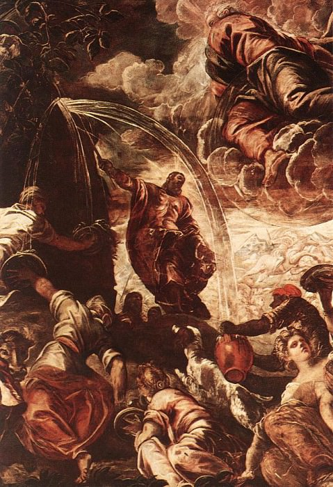 Tintoretto Moses Drawing Water from the Rock detail1. Tintoretto (Jacopo Robusti)