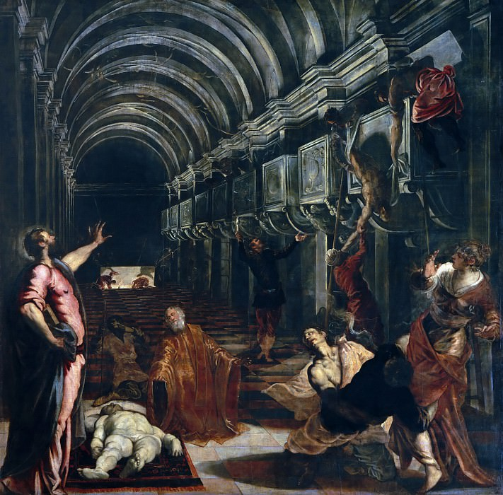 Finding of the Body of Saint Mark. Tintoretto (Jacopo Robusti)
