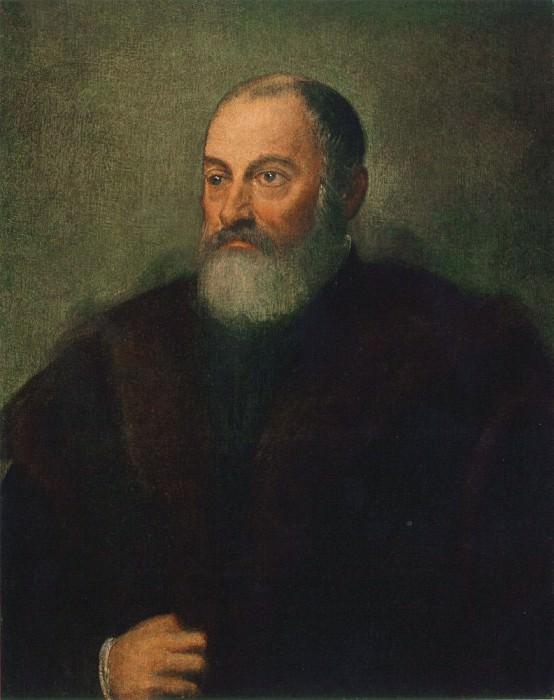 Портрет мужчины. Тинторетто (Якопо Робусти)