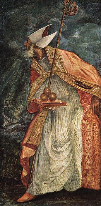 St Nicholas WGA. Tintoretto (Jacopo Robusti)