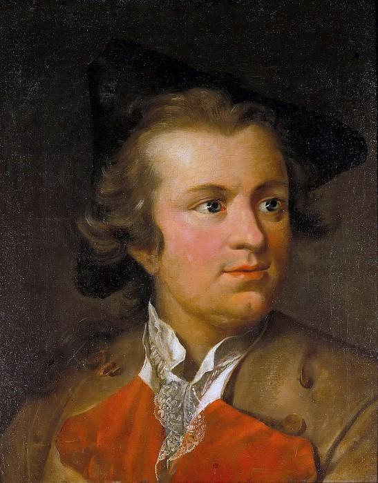 Portrait Gotthold Ephraim Lessing. Johann Heinrich Tischbein I