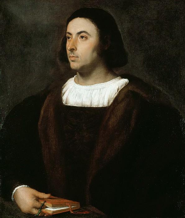 Portrait of Jacopo Sannazaro. Titian (Tiziano Vecellio)
